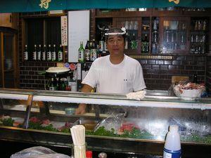 新鮮なネタのお寿司屋さん