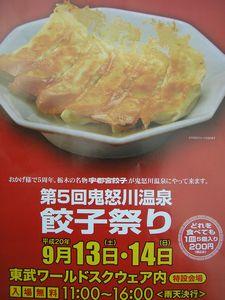第5回鬼怒川温泉餃子祭り( ^)o(^ )