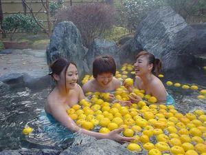 ゆず湯風呂キャンペーン ~冬至はゆず湯で楽しみましょう~