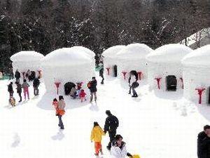 湯西川かまくら祭!