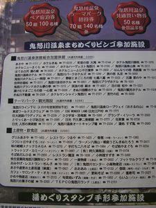 鬼怒川温泉を楽しんで当てよう(^^♪