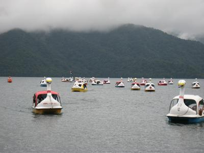 第3回中禅寺湖スワンボートレース情報。