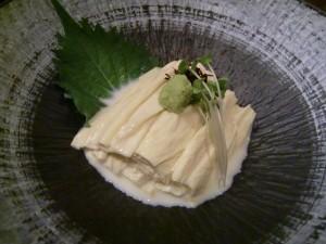 丸京の湯波料理☆追加でご注文いかがですか(^_^)/