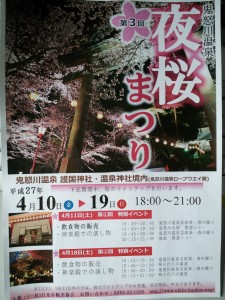 毎年恒例~夜桜まつり✿✿